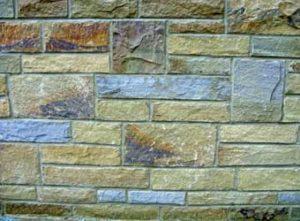 New yorkstone walling